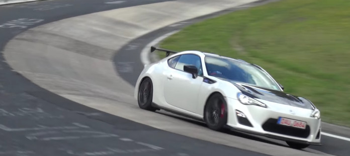 2016 Toyota 86 GRMN (1 of 100) Testing on the Nurburgring