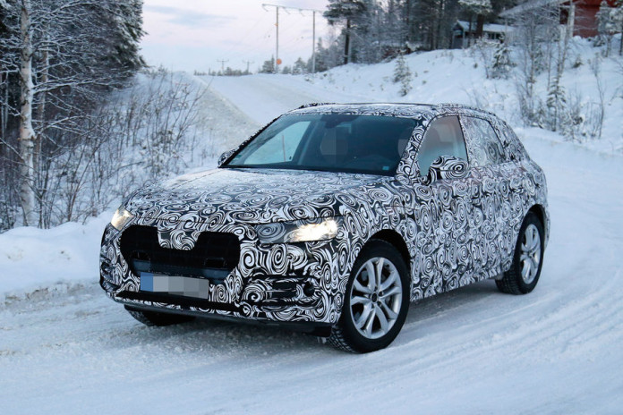 Audi Q5 2016 Spy Photos (4)