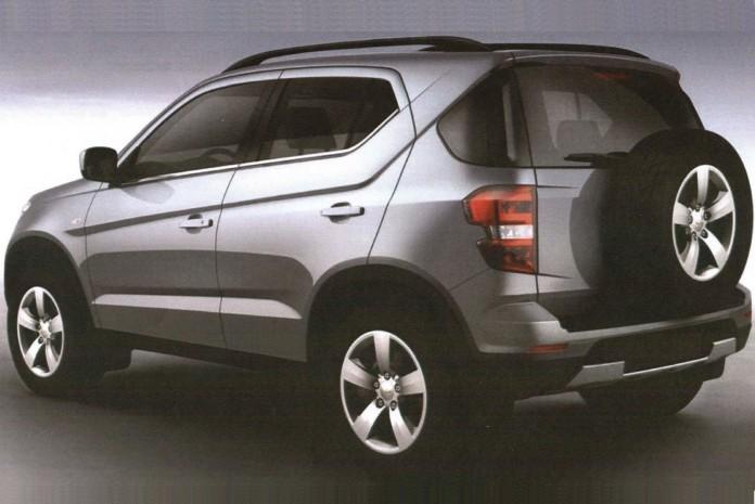 Chevrolet Niva leaked (2)