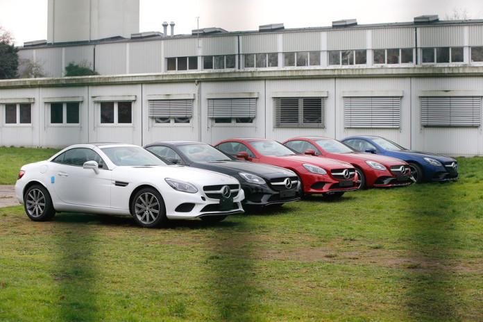 Mercedes SLC 2016 spy photos (1)