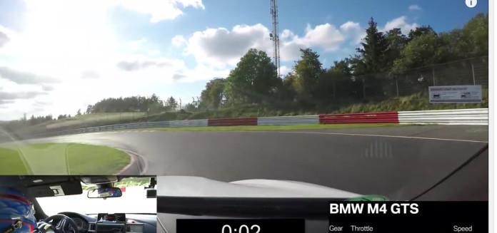 Teaser- BMW M4 GTS Fast Lap