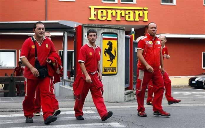 ferrari workers
