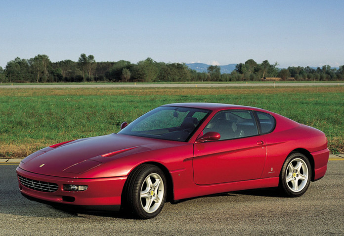 1992 Ferrari 456 GT; top car design rating and specifications
