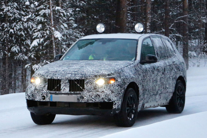 BMW X5 2018 spy photos (2)