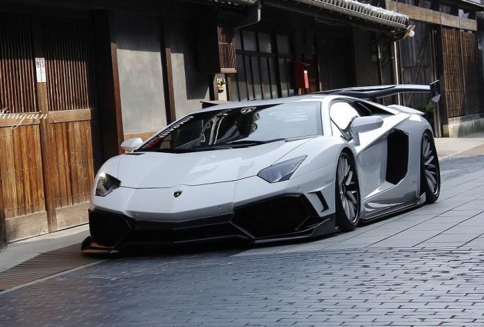 Lamborghini Aventador by Aimgain GT (1)