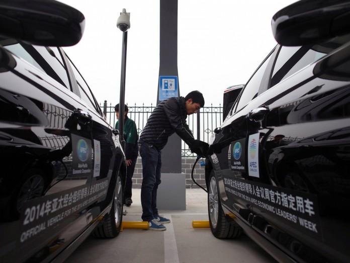baic motors electric cars china charging