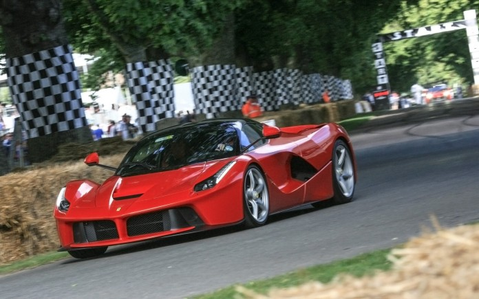 LaFerrari goodwood