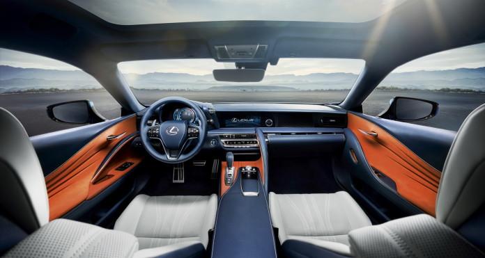 Lexus LC 500h 2017 (39)