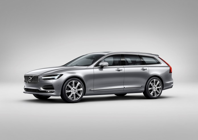 Volvo V90 Studio Front 3/4