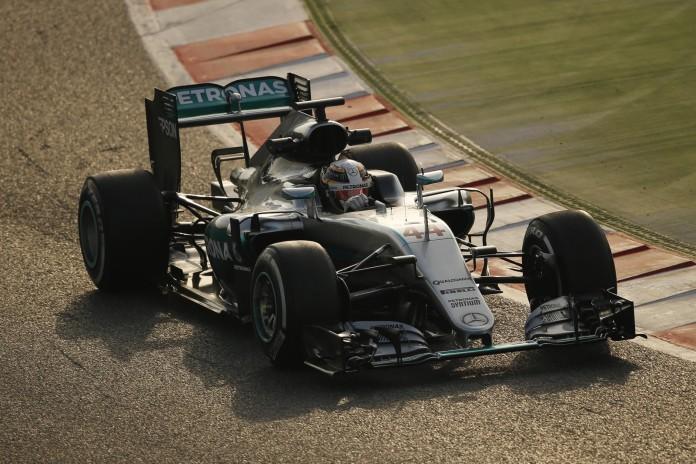 Lewis Hamilton (GBR) Mercedes-Benz F1 W07 Hybrid at Formula One Testing, Day Four, Barcelona, Spain, Thursday 25 February 2016.