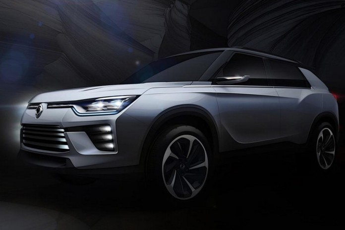 SsangYong SIV-2 concept teaser (1)