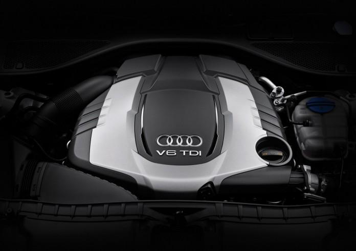 Audi A6 allroad quattro /Motorraum