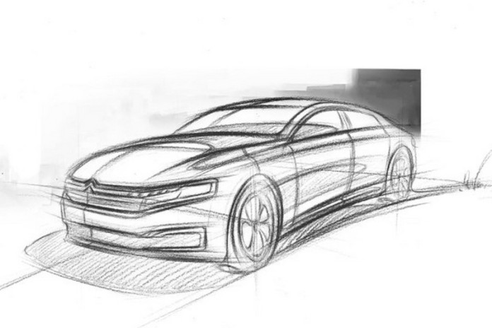 citroen-sketches-out-new-c6-for-china-2016-citroen-c6-teaser