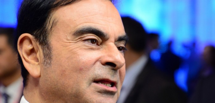 SWITZERLAND, Geneva: Renault CEO Carlos Ghosn attends the Geneva International Motor Show on March 1, 2016. The event will open its doors to the public on March 3 for ten days. - CITIZENSIDE/Rémy GENOUD