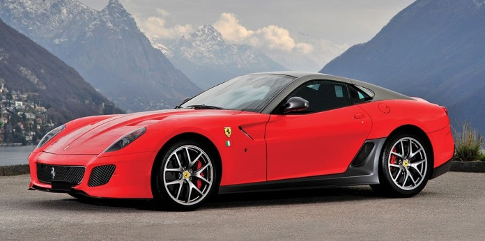 Ferrari 599 GTO in auction (1)
