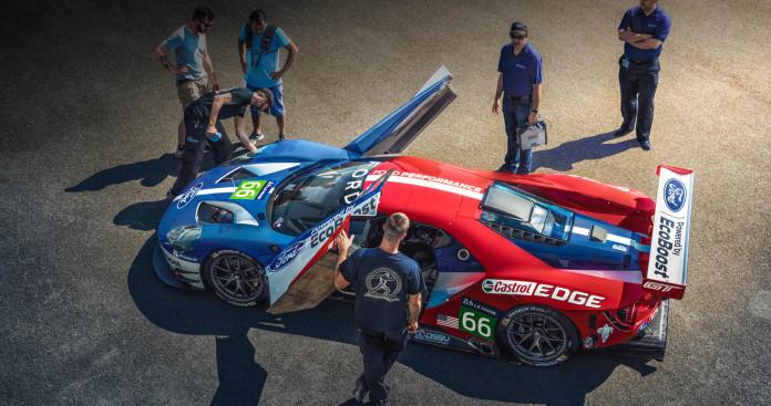 Ford GT Racer Le Mans (1)