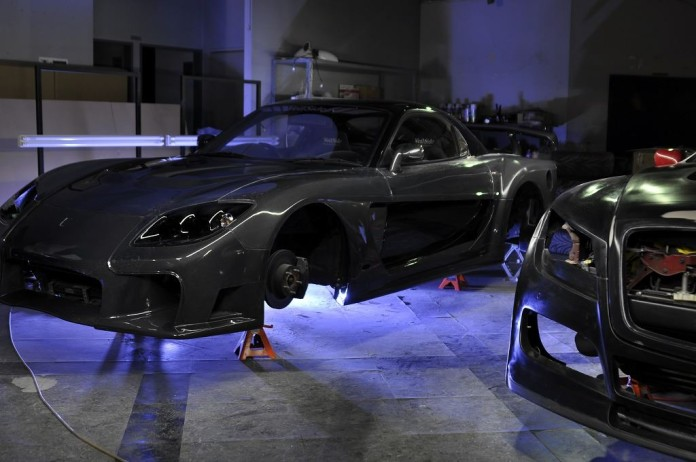 Mazda RX-7 carbon by Veilside 7