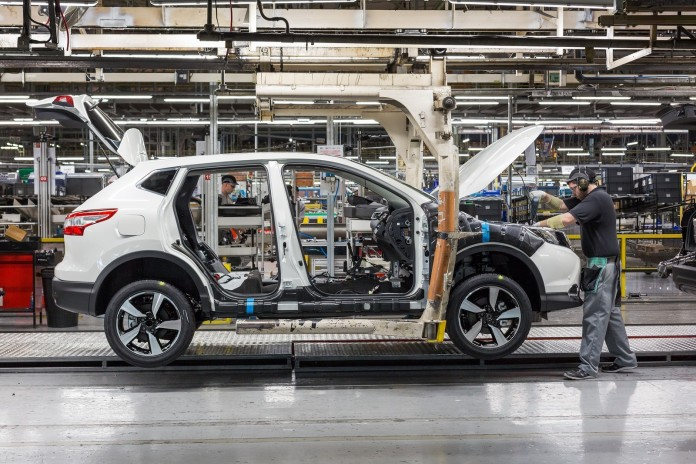 Nissan Qashqai production (1)