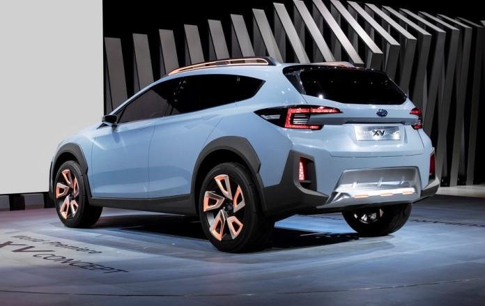 Subaru XV Concept in Geneva 2016