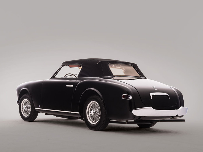 Ferrari 212 Inter Cabriolet by Vignale auction 2