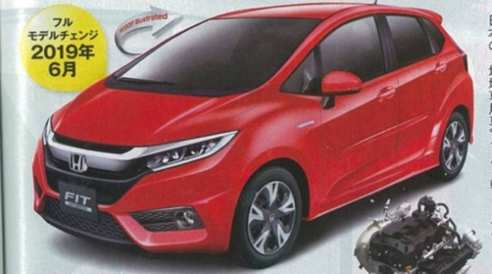 Honda-fit-facelift
