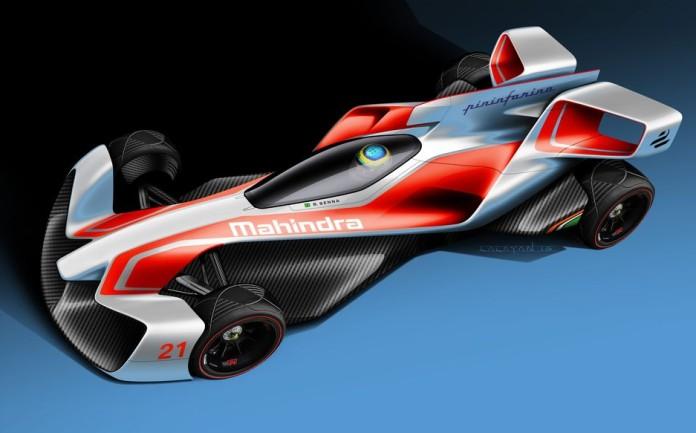 Mahindra and Pininfarina Formula E concepts (1)