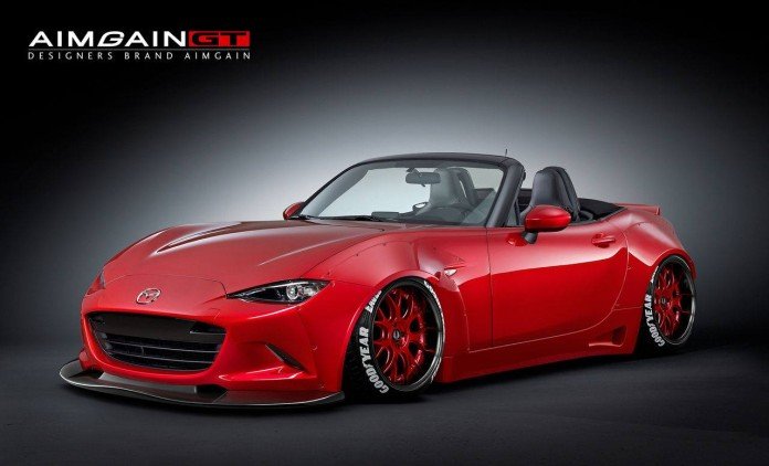 Mazda MX-5 with Aimgain Widebody (1)
