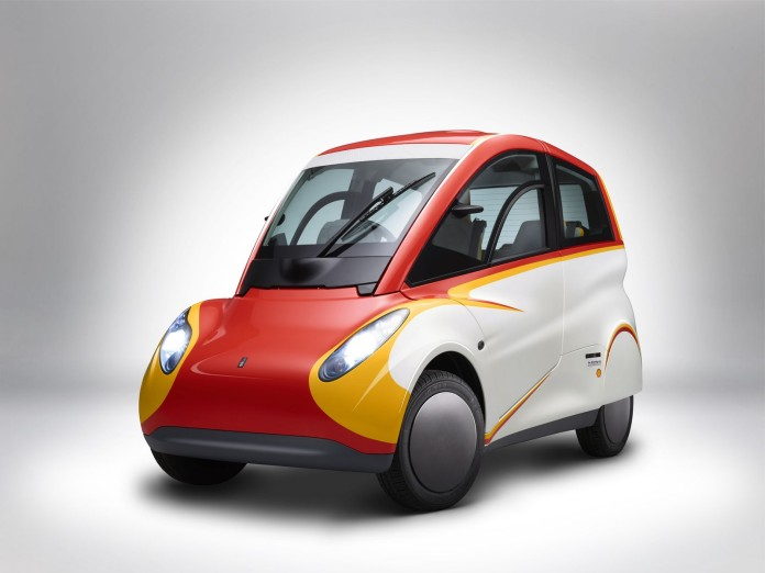 Shell Concept Car_angle profile front facing