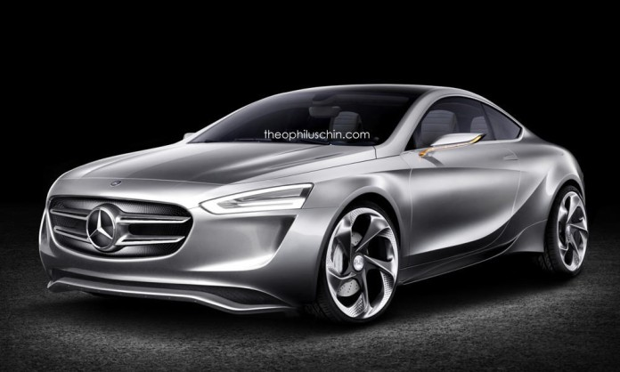 a-class coupe rendering