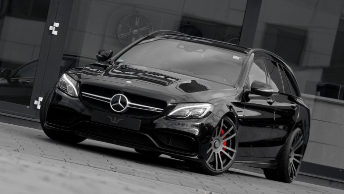 Auspuffanlage_Mercedes_C63AMG_2015_Klappensteuerung