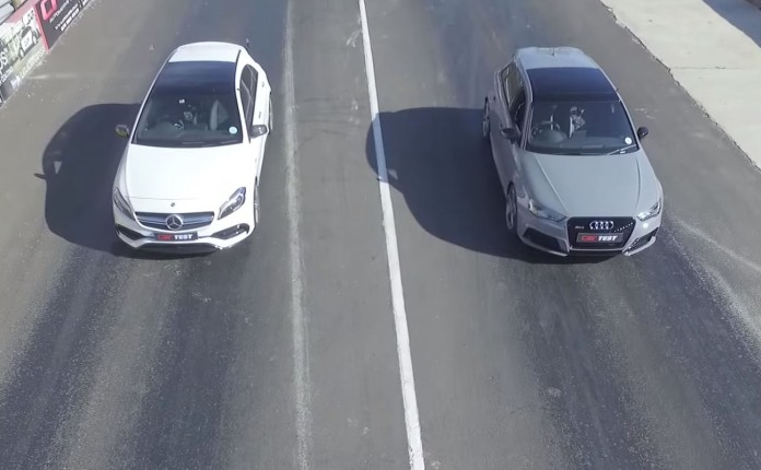 Mercedes-AMG A 45 Vs Audi RS 3