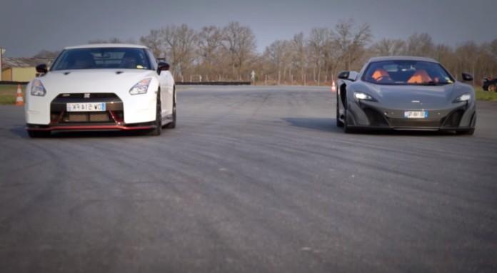 Nissan GT-R Nismo Vs McLaren 675LT