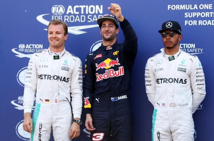 Ricciardo-Rosberg-Hamilton