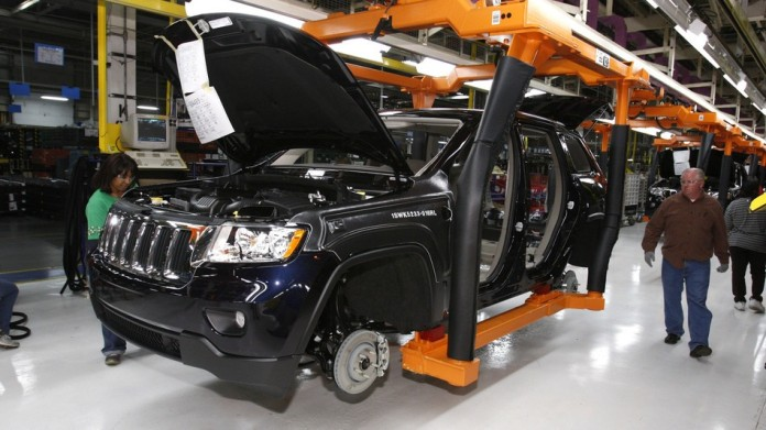 jeep Grand Cherokee production plant