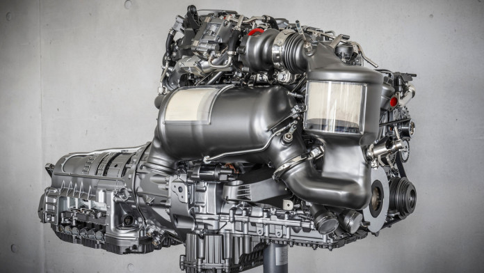 mercedes-four-cylinder-diesel-engine