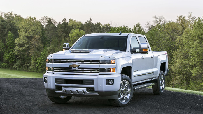 2017 Chevy Silverado 2500 HD 1