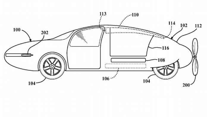 Toyota Flying Car Patent (1)