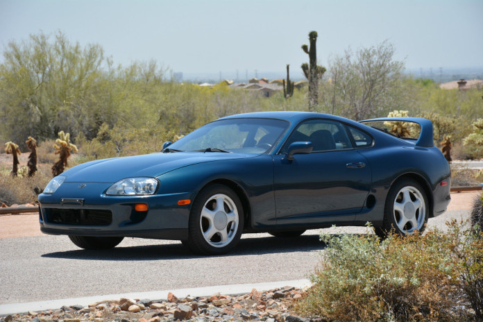 Toyota Supra 1994 in auction (4)