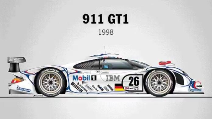 porsche 911 gt1 le mans 1998