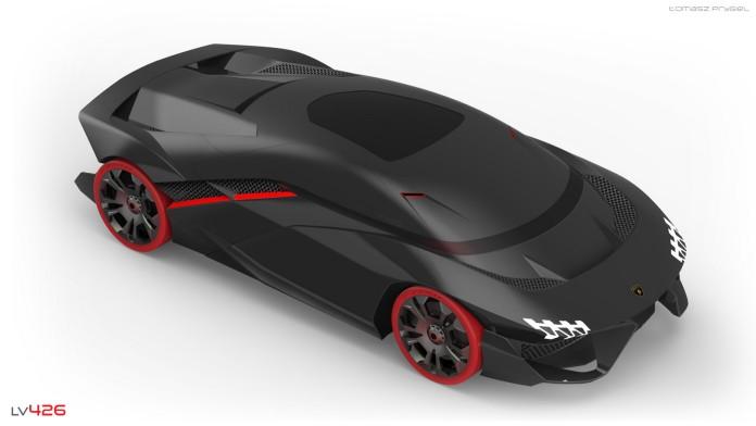 Lamborghini LV-426 concept by Tomasz Prygiel (1)