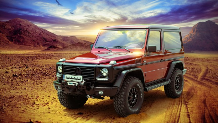 Mercedes G-Class by by Carbon Motors (1)