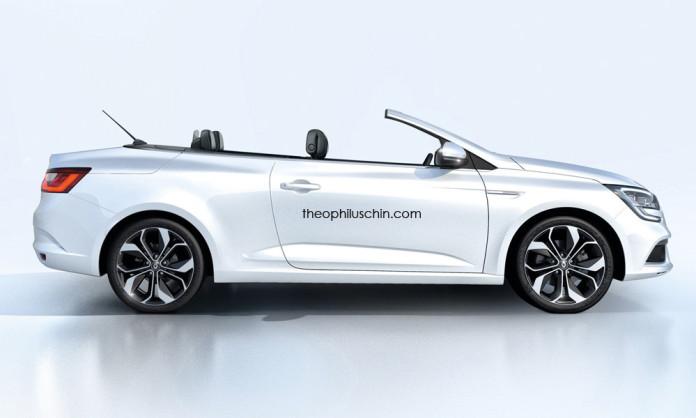 Renault Megane Cabriolet rendering (1)
