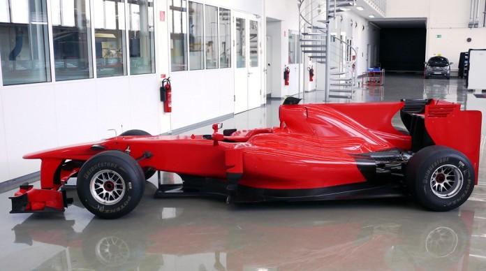 Η Toyota TF110 στα χρώματα της ομάδας του Stefanovic