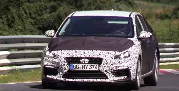 2018 Hyundai i30 N Testing on the Nurburgring