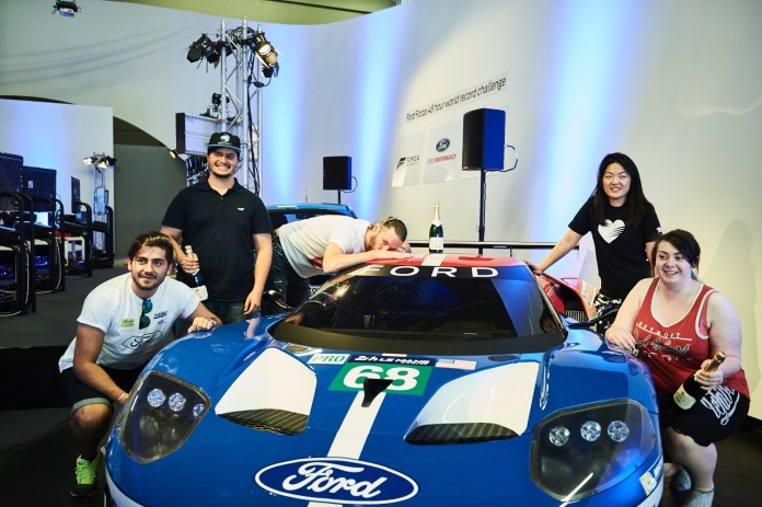 Gamers Drive Ford GT in Forza Motorsport 6 for 48 Hours at Le Mans to Set New GUINNESS WORLD RECORDS™ Title