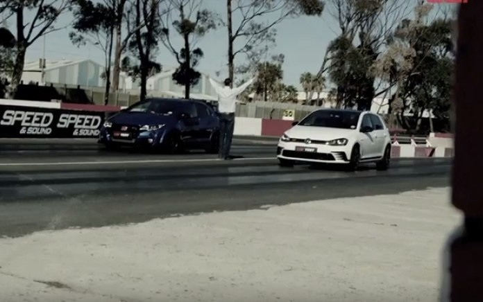 Golf GTI Clubsport vs. Honda Civic Type R