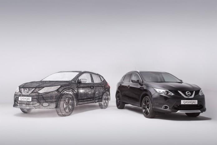 Nissan 3D Qashqai Black Edition (2)