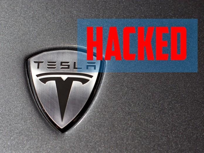 tesla-hacked