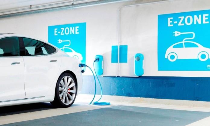 EV charging network