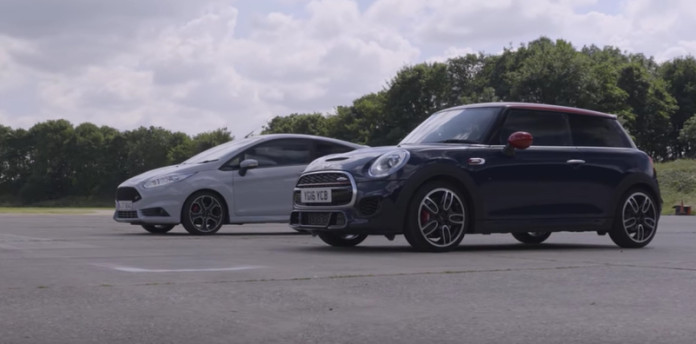 Ford Fiesta ST200 vs MINI John Cooper Works